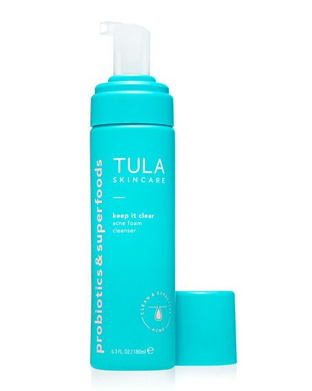 Image 2 of 2: TULA 6.3 oz. Keep It Clear Acne Foam Cleanser