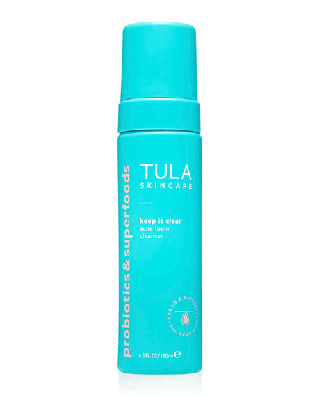 Image 1 of 2: TULA 6.3 oz. Keep It Clear Acne Foam Cleanser