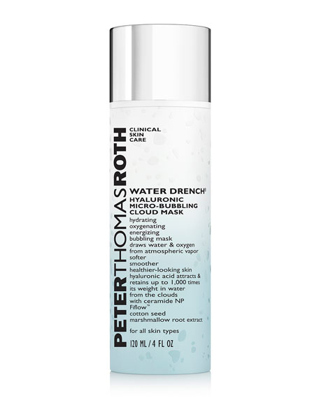 Peter Thomas Roth Water Drench Hyaluronic Cloud Mask, 4 oz./ 118 mL