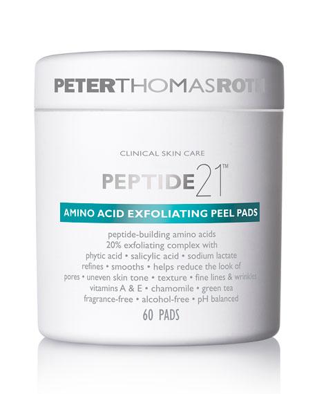 Peter Thomas Roth Peptide 21 Amino Acid Exfoliating Peel Pads, 60 Count