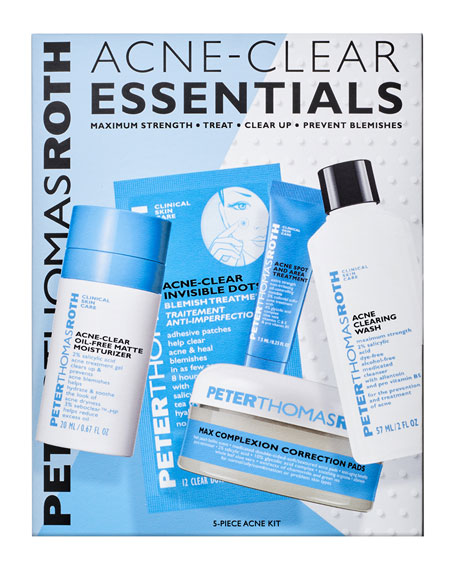 Peter Thomas Roth Acne Clear Essentials 5-Piece Kit