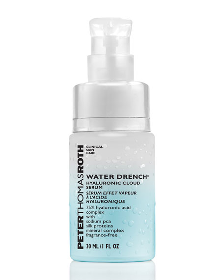 Peter Thomas Roth Water Drench Hyaluronic Cloud Cream Serum, 1 oz./ 30 mL