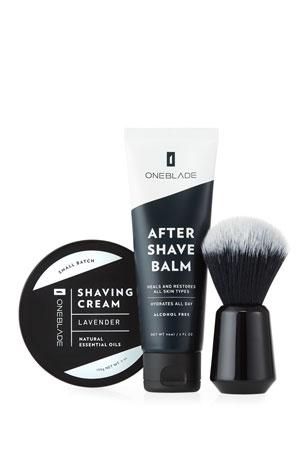 OneBlade Men's Black Tie Skincare Set