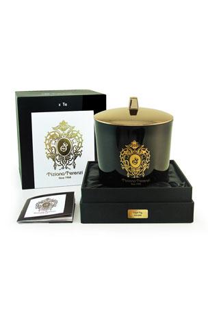Tiziana Terenzi 17.6 oz. Capri Fig Black Maxi Glass Candle
