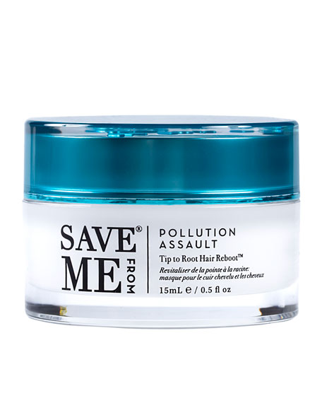 Image 1 of 5: Save Me From Pollution Assault Tip to Root Hair Reboot, 0.5 oz./ 15 mL