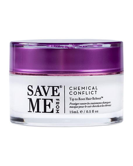 Image 1 of 3: Save Me From Chemical Conflict Tip to Root Hair Reboot, 0.5 oz./ 15 mL