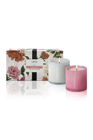 Lafco Floral Candle Duo, 6.5 oz./ 190 g