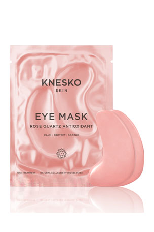 Knesko Skin Rose Quartz Antioxidant Eye Mask