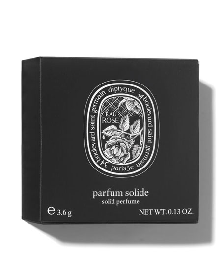 Diptyque Limited Edition 0.13 oz. Eau Rose Solid Perfume
