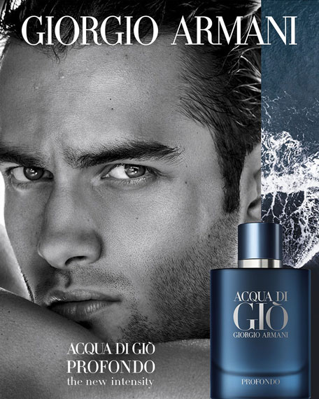 Giorgio Armani Acqua di Gio Profondo Eau de Parfum, 2.5 oz./ 75 mL