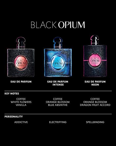 Yves Saint Laurent Beaute BLACK OPIUM NEON Eau de Parfum, 2.5 oz./ 75 mL