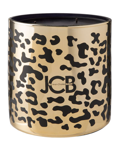 Leopard Candle  62 oz./ 1750 g