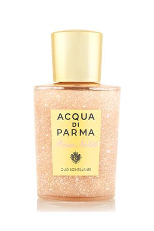 Acqua di Parma Rosa Nobile Shimmering Oil, 3.3 oz./ 100 mL