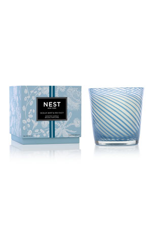Nest Fragrances 22.7 oz. Ocean Mist & Sea Salt Specialty 3-Wick Candle