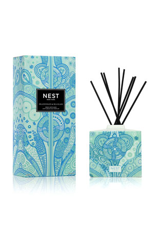 Nest Fragrances 5.9 oz. Island Rain and Sea Glass Reed Diffuser