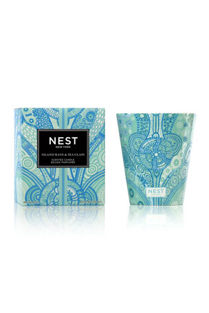 Nest Fragrances 8.1 oz. Island Rain and Sea Glass Classic Candle