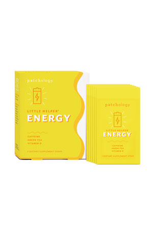 Patchology Little Helper Supplement Strips - Energy