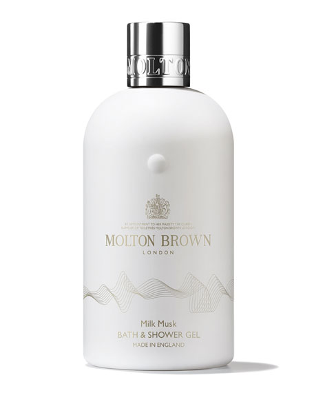 Image 1 of 2: Molton Brown 10 oz. Milk Musk Bath & Shower Gel