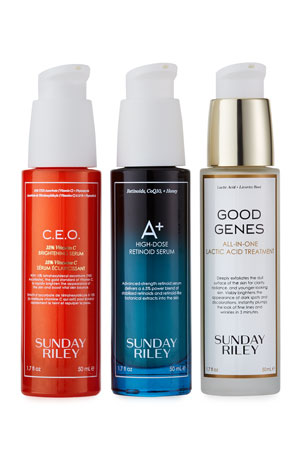 Sunday Riley Modern Skincare Power of Three Serums ($425 Value) $275.00