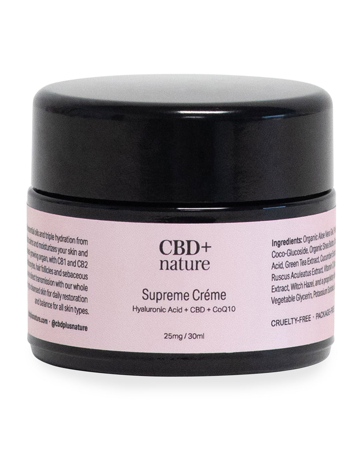 CBD + Nature 1 oz. Supreme Creme