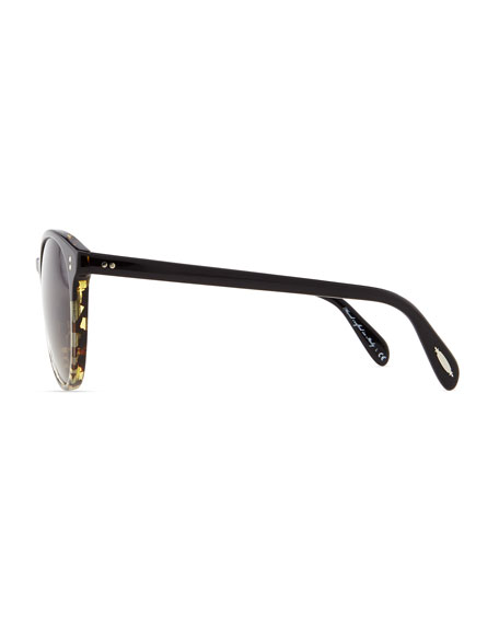 Corie Round Retro Sunglasses