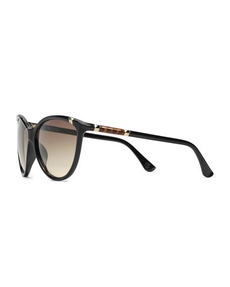 Camila Soft Cat-Eye Sunglasses