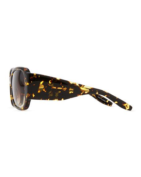 Vreeland Square Sunglasses, Heroine Chic