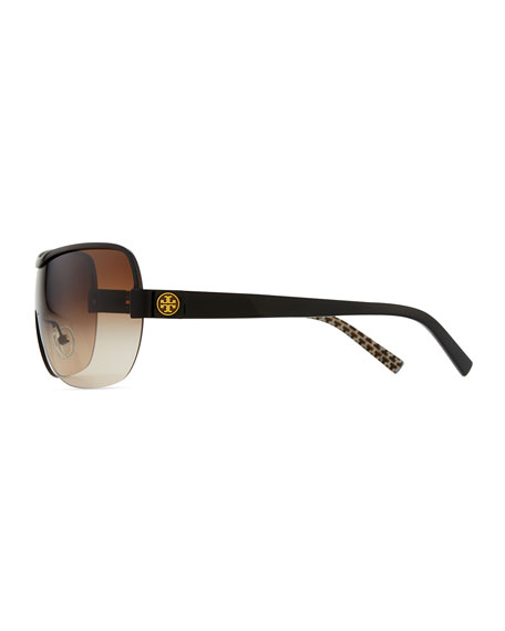 Shield Sunglasses, Black