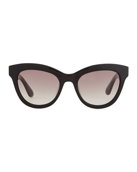 Marc Jacobs Cat Eye Sunglasses  marc by marc jacobs cat eye sunglasses black