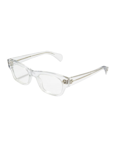 Bradford Clear Fashion Glasses, Crystal