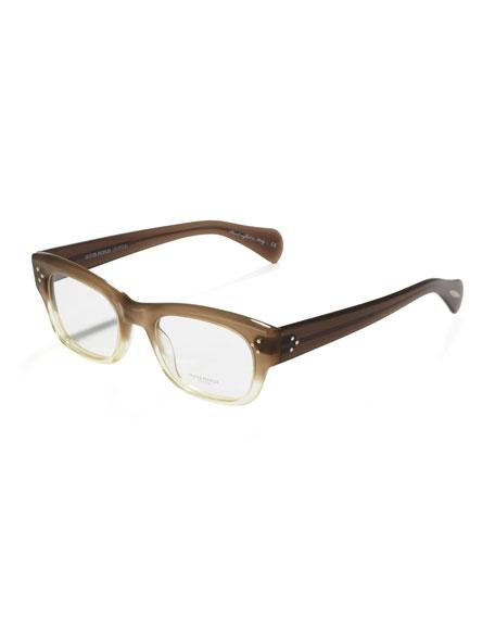Bradford Two-Tone Glasses, Taupe