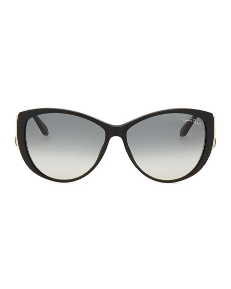 Drop-Temple Sunglasses