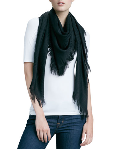 Gucci Cavendish Shawl, Black