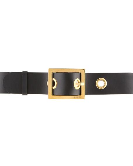 Non G-Adjustable Women's Belt, Black