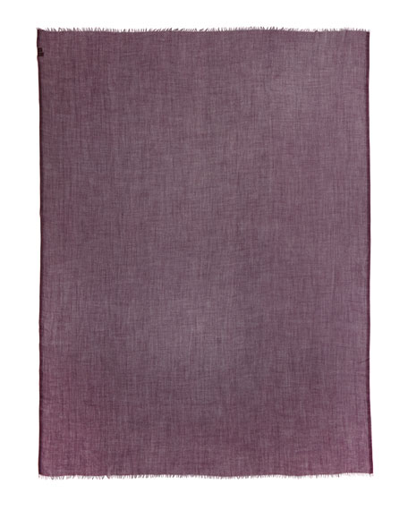 Faded Unique Scarf, Pink Madder