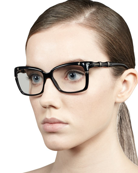 3dd7927b06 Gucci Bamboo Frame Fashion Glasses