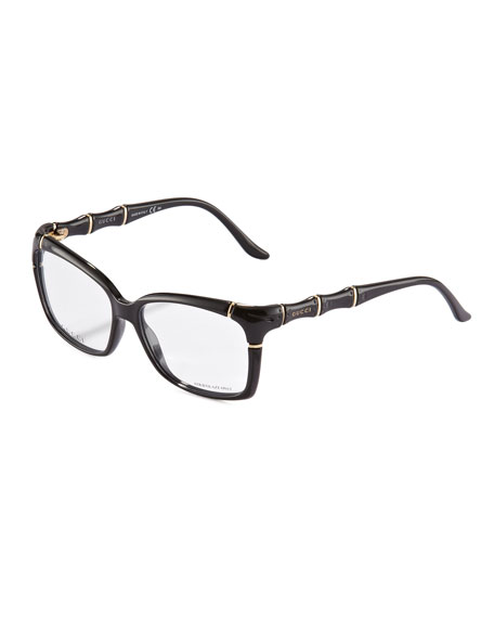 Gucci Sunglasses Bamboo Frame  gucci bamboo frame fashion glasses black