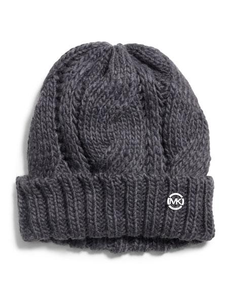 Knit Cuffed Hat