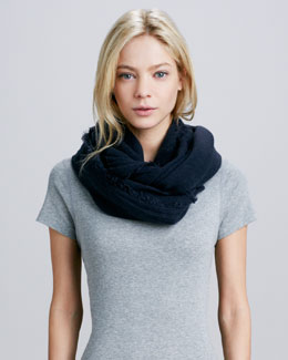Hat Attack Infinity Scarf, Navy