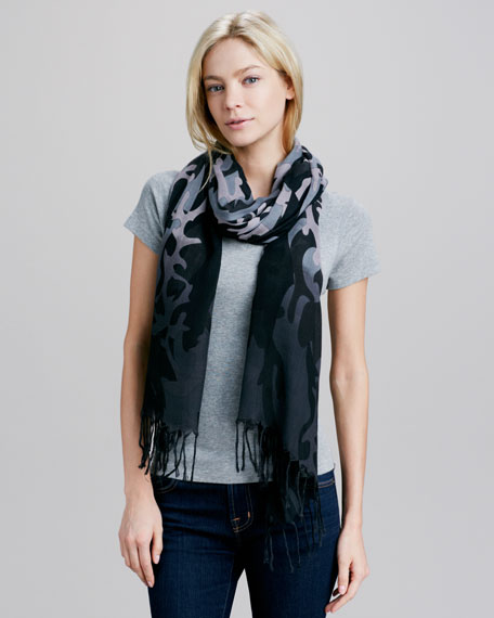 Dipped Camo Scarf