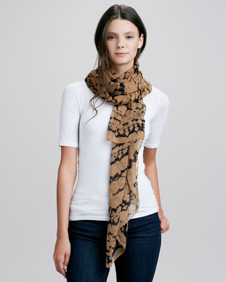 Clairvoyant Daydreams Scarf, Marlin