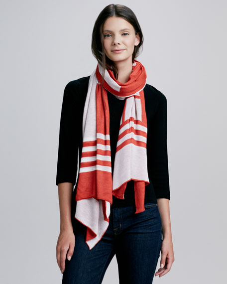 Albers Wrap Scarf