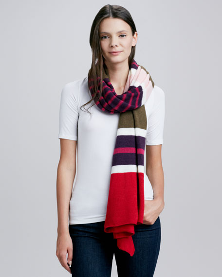 Covered in Stripes Scarf