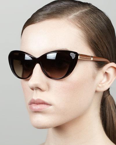 MARC by Marc Jacobs Cat-Eye Sunglasses, Havana