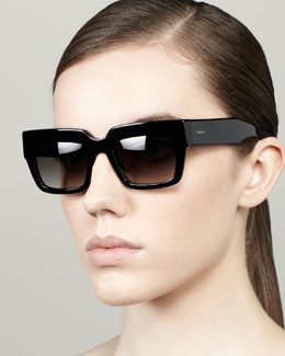 Prada Poem Catwalk Square Sunglasses