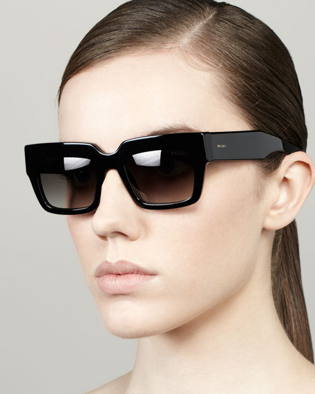 Poem Catwalk Square Sunglasses