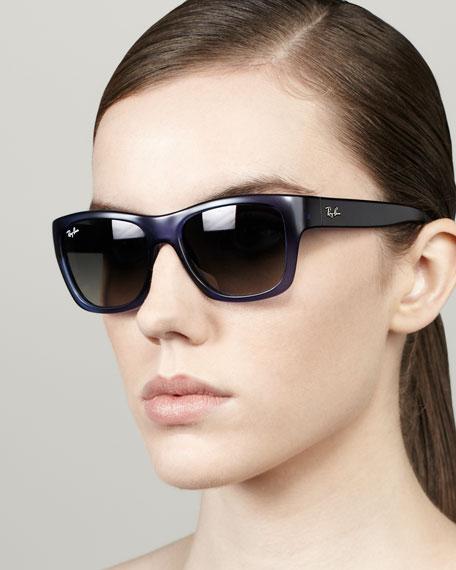 Highstreet Rectangular Sunglasses, Blue
