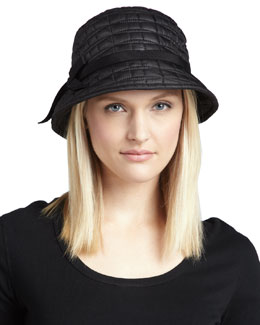 kate spade new york logo bucket hat, black