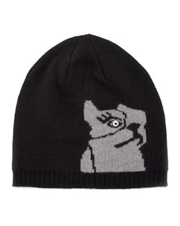 MARC by Marc Jacobs Olive the Dog Knit Hat