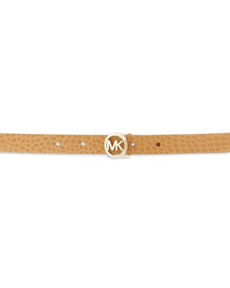 Reversible Snake-Embossed Belt